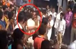Video: सीएम शिवराज सिंह चौहान ने एक शख्स को मारा थप्पड़