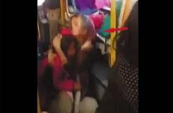 Video : बच्चे रोते रहे और उपद्रवी पत्थर बरसाते रहे