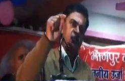 केंद्रीय मंत्री आरके सिंह बोले कोई गड़बड़ी करेगा तो उसका गला काट दूंगा