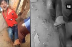 Video : भीड़ के कहर से गई एक मजदूर की जान
