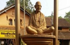 मूर्तितोड़ राजनीति : उपद्रवियों ने तोड़ी गांधी प्रतिमा
