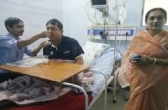 खंडवा : मंत्री विजय शाह अस्पताल में भर्ती
