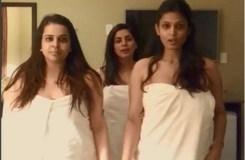 Video : 'तौलिया' में डांस कर रही ये एक्ट्रेस, वीडियो वायरल