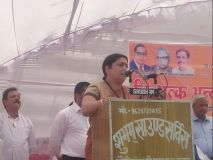 Video: अमेठी पहुँची स्मृति,कहा-पीएम नरेंद्र मोदी ने दिया अमेठी को आशीर्वाद