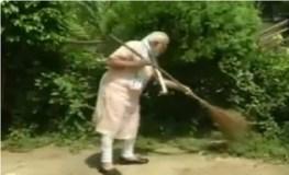 पीएम मोदी ने लगाई झाड़ू, हुई 'स्वच्छता ही सेवा' अभियान की शुरुआत