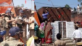 UP : धार्मिक स्थल को लेकर भिड़े दो समुदाय के लोग, तोड़फोड़, तनाव