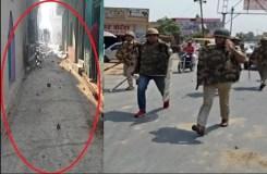 सहारनपुर : दलित-राजपूतों में संघर्ष, जमकर पथराव, पुलिसबल तैनात