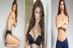 ब्रा उतारकर इस खूबसूरत मॉडल ने दिखाए प्राइवेट पार्ट्स