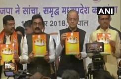 MP : भाजपा ने जारी किया घोषणा पत्र, महिलाओं के लिए नारी शक्ति संकल्प पत्र