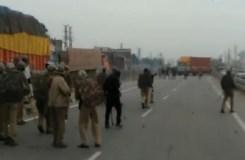 गुर्जर आंदोलन हुआ उग्र, वाहनों को लगाई आग, पुलिसकर्मी घायल