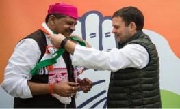 कांग्रेस में शामिल हुए कीर्ति आजाद, लंबे समय से भाजपा से चल रहे थे निलंबित