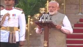 मोदी 2.0 का कार्यकाल शुरू, नरेंद्र मोदी ने ली पद की शपथ
