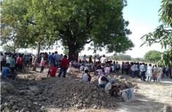 दलित किसान के हाथ-पैर काटने के बाद चारपाई में बांधकर जिंदा फूंका