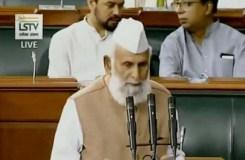 शफीकुर्रहमान संसद में बोले वंदे मातरम् इस्लाम के खिलाफ