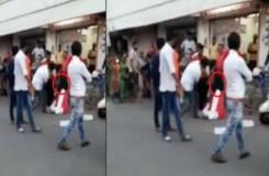 भाजपा विधायक ने सरेआम सड़क पर महिला को लात-घूंसो से पीटा, गुंडागर्दी का वीडियो वायरल