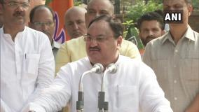 NRC मुद्दे पर जेपी नड्डा कहा- भारत एक देश है कोई गेस्ट हाउस नहीं, सभी घुसपैठिए बाहर जाएंगे