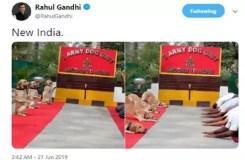 राहुल गांधी ने किया सेना का अपमान, बीजेपी हुई हमलावर