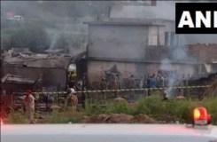 पाकिस्तान : सेना का विमान ट्रेनिंग के दौरान क्रैश, 17 की मौत