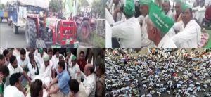 15 मांगें लेकर सैकड़ों किसानों ने किया दिल्ली कूच