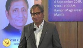 नागरिकों को दो भागों में बांट दिया गया है, राष्ट्रवादी और राष्ट्रद्रोही : रवीश कुमार