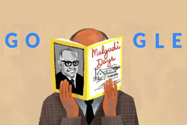 Google doodles Malgudi Days RK Narayan's