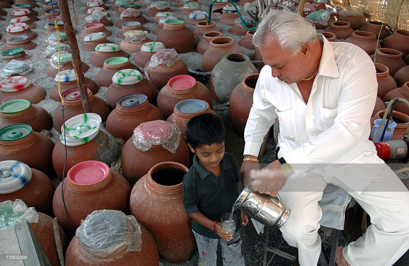 mineral water on india