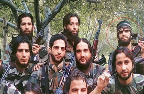 hizbul terrorist fb pic