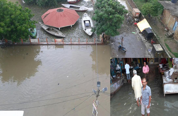 Flood Situation in Varanasi and Allahabad
