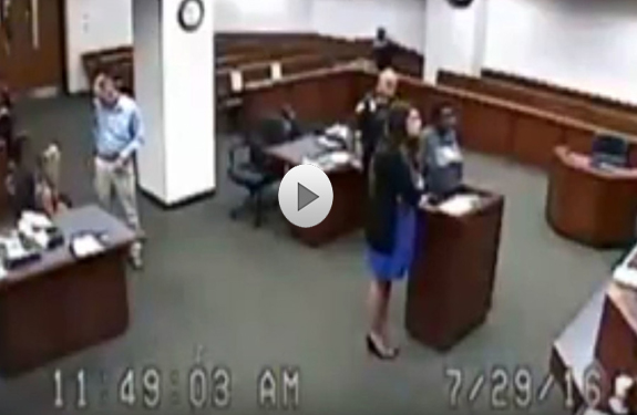 Girl Was Brought to Court Without Pants