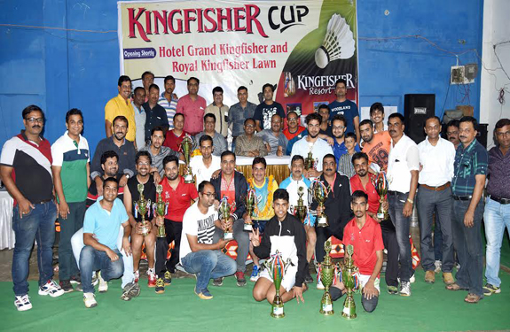 Palash received double success in the Kingfisher cup