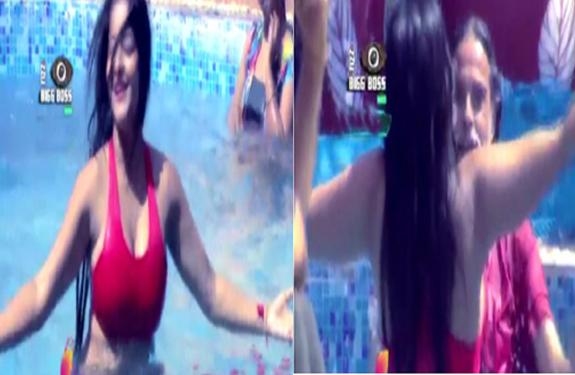 swami-omji-pool-dance-with-monalisa