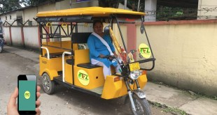 Tezpur on eRickshaw Ride and its FREE