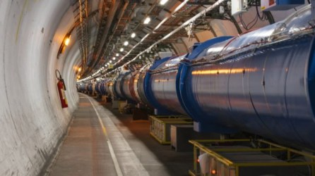 The Large Hadron Collider is the world's largest and highest-energy particle collider and the largest machine in the world.