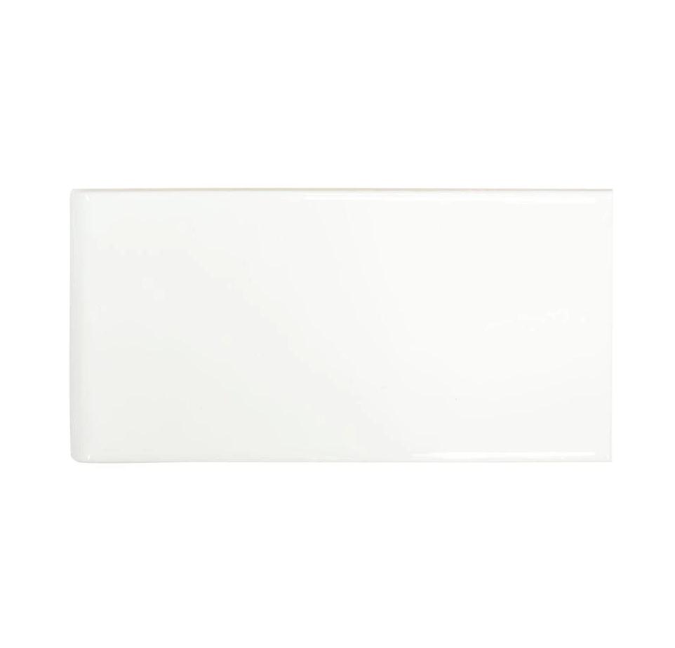 tgt ceramica subway tile white 3x6