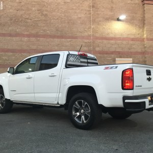 Colorado Rear Window Decal 2015-2019 Chevy Colorado