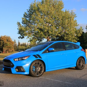 Ford Focus Fender Stripes 2012-2018 – fits all ST & RS