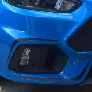 Front and Rear Bumper Accent Decals 2016-2018 Ford Focus RS