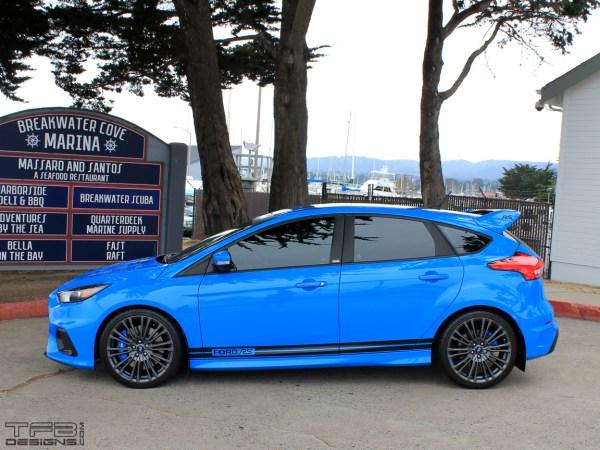Ford Focus side stripes by TFB Designs