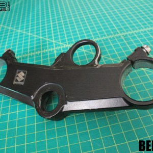 Carbon Fiber Triple Clamp Decal 2001-2002 Suzuki GSXR 1000 GSX-R