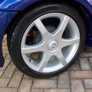 Wheel Center Cap Decals – Many Sizes – fits Ford Focus Saleen N02