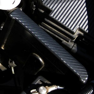 Carbon Fiber ECU Cover Decal 2006-2011 Honda Civic Si FG2 FA5