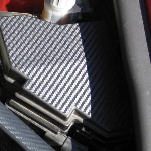 Fuse Box Overlay – 3M Carbon Fiber – 2006-2011 Honda Civic Si