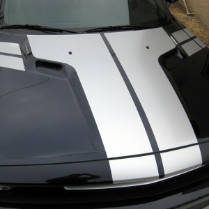 Hood / Trunk Stripes – 2012 Dodge Challenger / R/T Stripe Kit