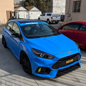 NorCal ST RS Windshield Banner for 2012-2018 Ford Focus