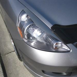 Headlight Eyelids fits 2007-2008 Honda Fit – STYLE 2