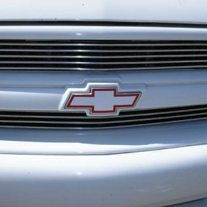 SS Style Front Chevy Emblem Decal – fits Chevrolet Trucks
