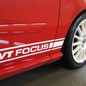 Side Stripes – 2000-2007 Ford Focus – Many Logos / Colors