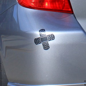 Double Bandage Style Decal – Bandage JDM Vinyl Sticker