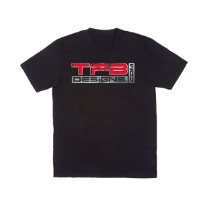 TFB Designs 3D Logo Short Sleeve Shirt – Many Sizes Available