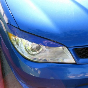 Headlight Eyelids fits 2006-2007 Subaru WRX / STI 06-07